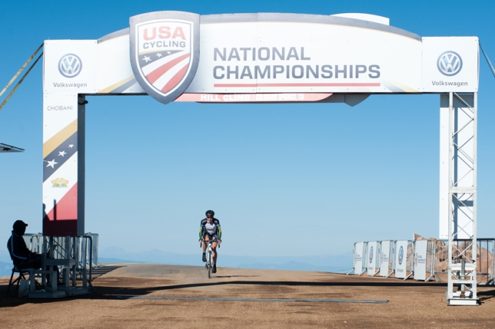2016 Broadmoor Pikes Peak Cycling Hill Climb / USA Cycling Hill Climb National Championships